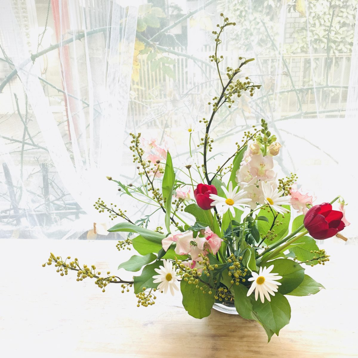 初めてのお花教室
