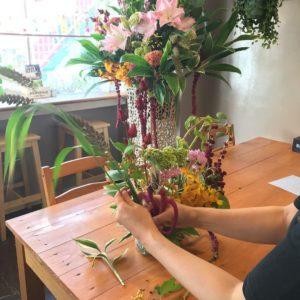 自宅でできるお花教室