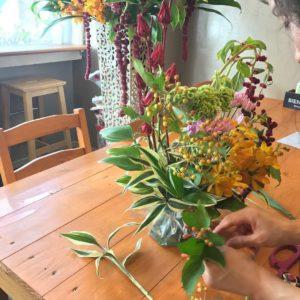 おうちでお花教室