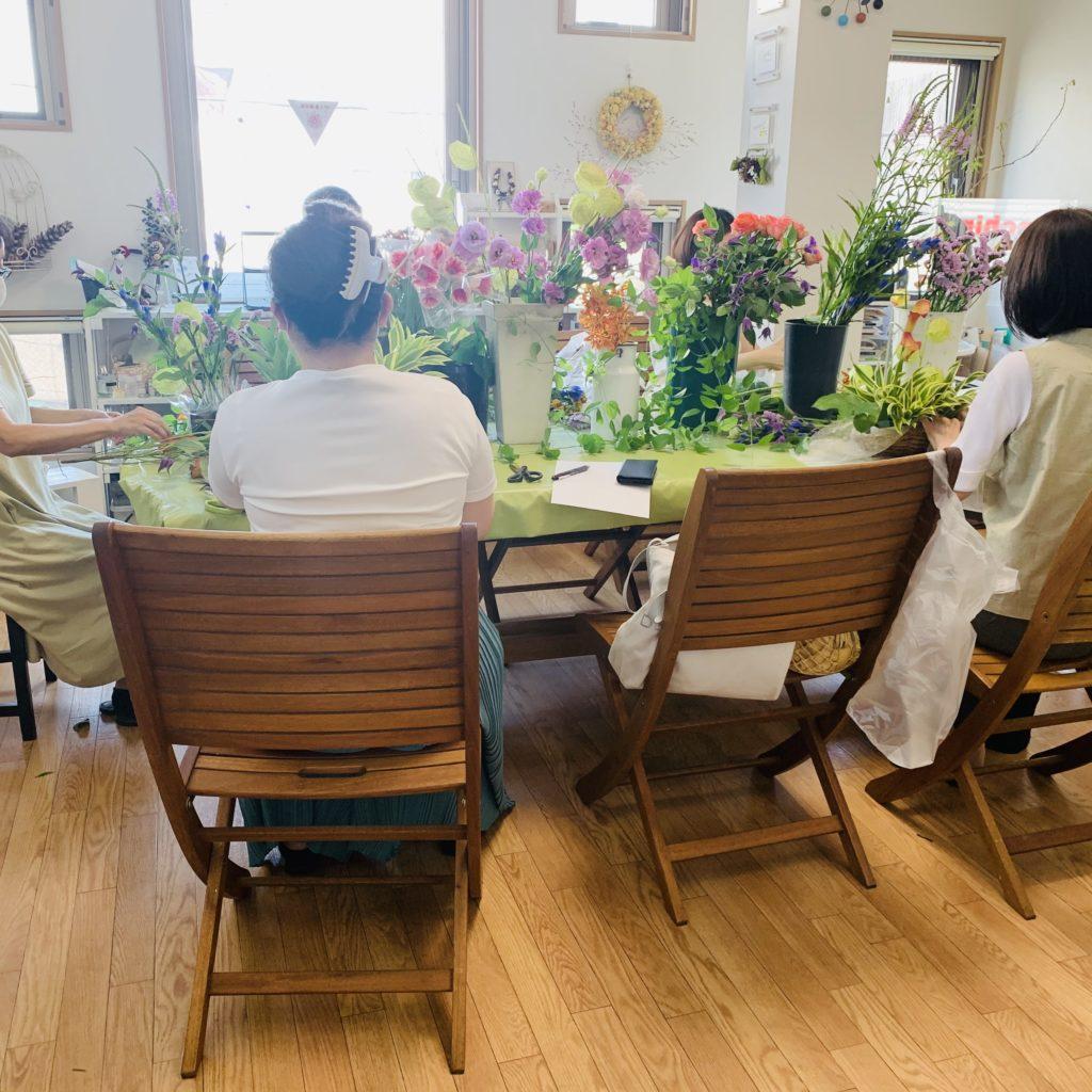横浜 東横線のお花教室