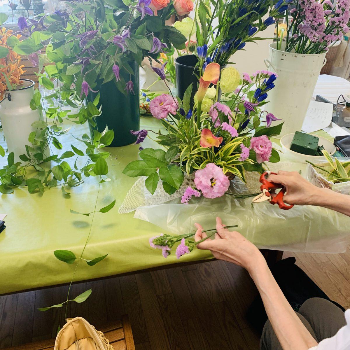 お花教室で勘を磨くと防犯にも役立つ?