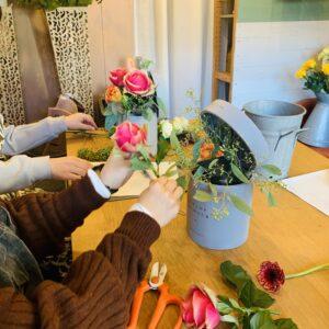 横浜市金沢区のお花教室